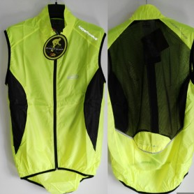 GILET NORTHWAVE WIND VEST YELLOW/BLACK